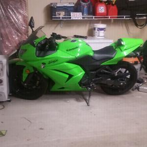 Kawasaki ninja 250r only 5000km