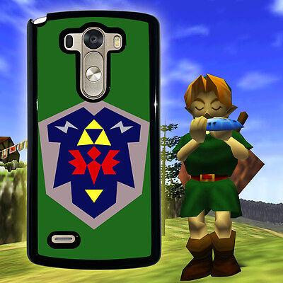 Zelda Hylian Shield Ocarina  for LG G4 G3 G2 Optimus L70 L90 series Phone