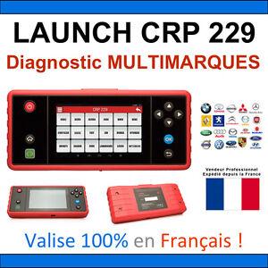 valise launch creader pro crp229 diagnostique multimarque diagnostic vagcom ebay. Black Bedroom Furniture Sets. Home Design Ideas
