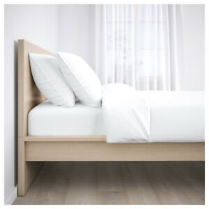 Ikea MALM Bed Frame -Full or Double in Light Oak Colour