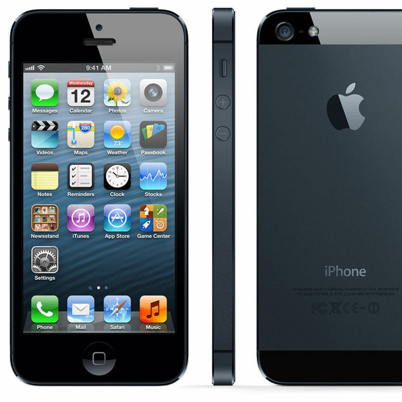 att iphone 5 apple iphone 5 smartphone black white cell phone 16gb 10184