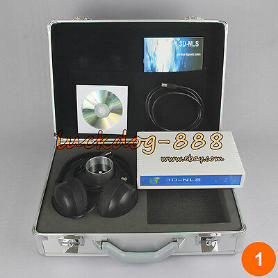 3d Nls Cell Quantum Health Analyzer Diacom Medicomat Bio-resonance Diagnostics