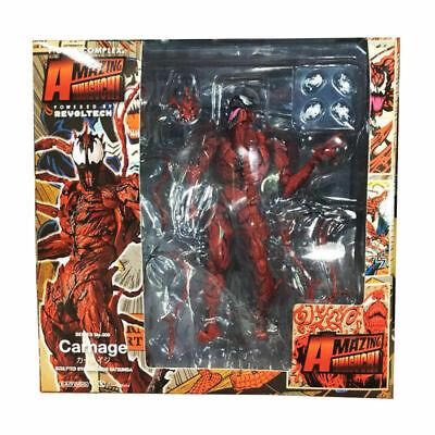Spider-Man Carnage Action Figures Amazing Yamaguchi Revoltech KaiyodoToy NO BOX