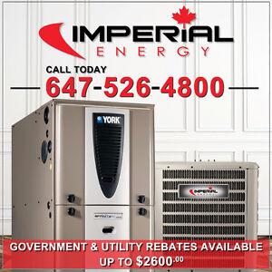 NEW HIGH EFFICIENCY GAS FURNACE | AIR CONDITIONER | INSTALLATION