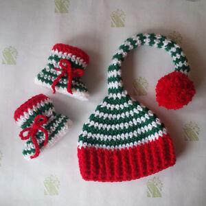 0-3 Month Christmas Elf Set