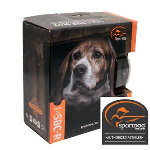 SportDOG Bark Control SBC-R Rechargeable No Bark Collar Waterproof Stop Bark NEW