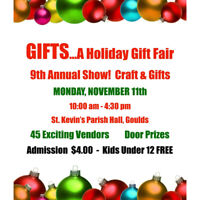 GIFTS HOLIDAY CRAFT FAIR