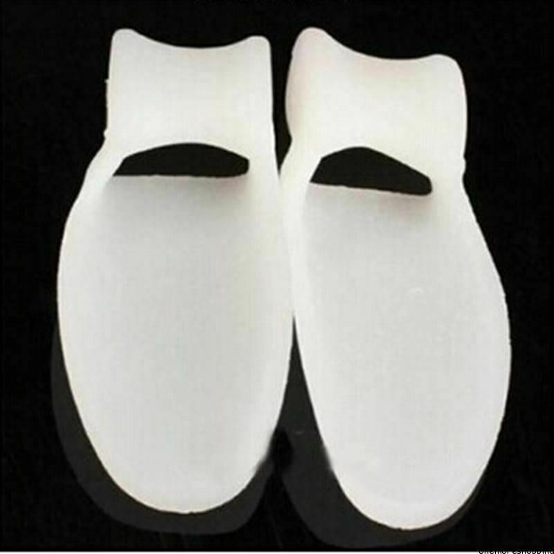 2X Reusable Gel Toe Orthotics Separators Stretchers Alignment Bunion Pain Relief Health & Beauty