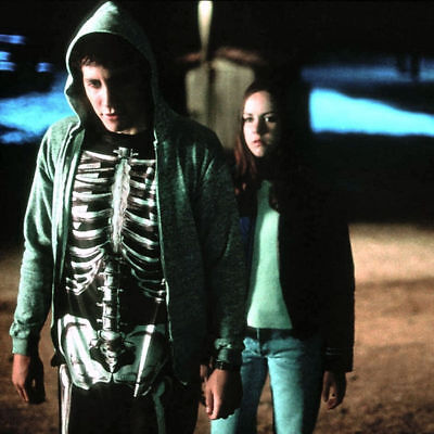 Donnie Darko Costume Skeleton Suit MEDIUM Adult Cosplay Halloween Hard to - Donnie Darko Costume Skeleton