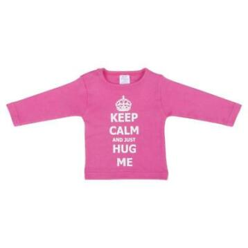 Petit Villain shirt - Keep Calm Hug Me