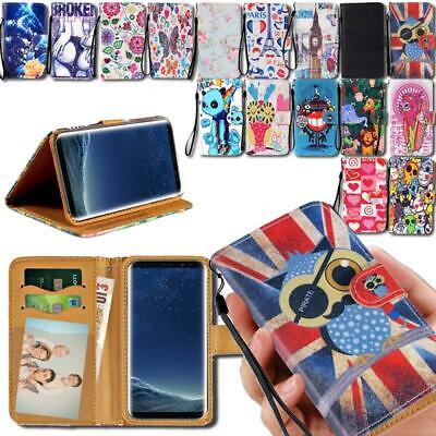 Flip Leather Smart Stand Wallet Cover Case For Various Samsu