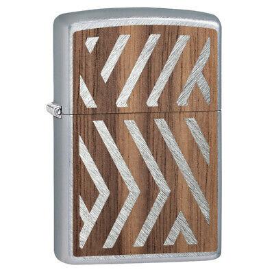Zippo Windproof Woodchuck Walnut Emblem Lighter, Buy 1 Plant 1, 29902 New In Box