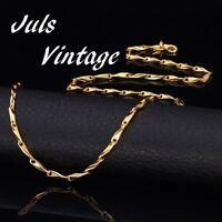 Collana Vintage Nuova In Oro 18k Cm.50, Spessa Mm.3, Gr.16 Unisex:mai Indossata -  - ebay.it