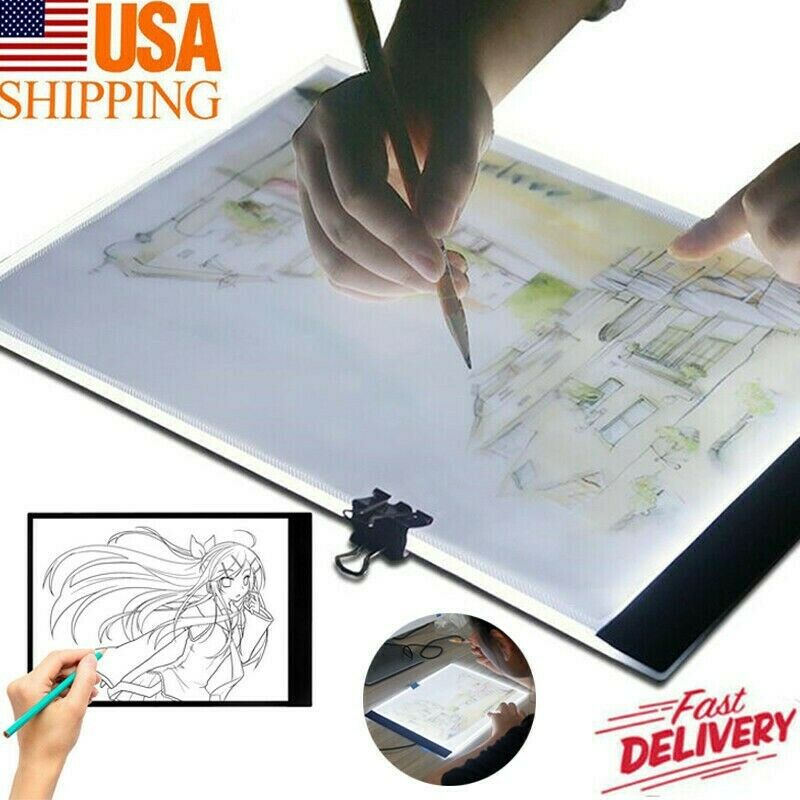 dimmable a4 a5 led light box tracing