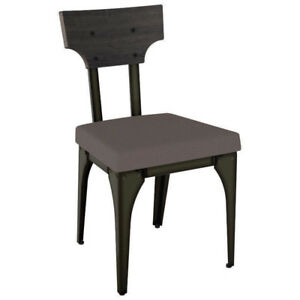 Dining Chair Rally Modern Polyester, Set of 2 Harley/Slate/Shad