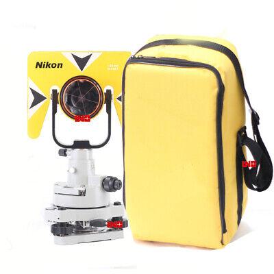Single Prism Tribrach Set Reflector System For Nikon Total Station Surveying