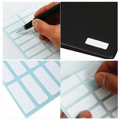 Sheet Self Adhesive Sticky White Label Blank Stickersnote Tags Craft