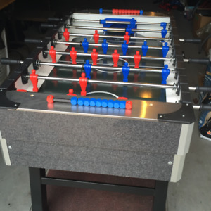 """NEW FABI """"TOP OF THE LINE"""" COIN OPERATED FOOSBALL SOCCER GAME !"""