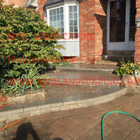 Best Prices on Interlocking! Paving! Walls and Steps!