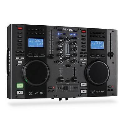 DJ SCRATCH CONTROLLER DOPPEL-CD-PLAYER USB MP3 MIXER