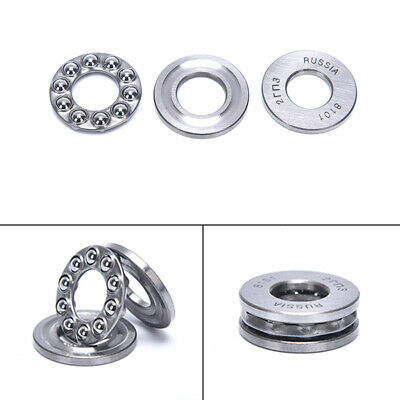 3pcs Plane Thrust Ball Bearing 51100 10249mm For Electric Tool Machine Toofca