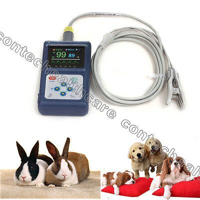 Veterinary Vet Spo2 Monitorpulse Oximeterwith Free Swbiger Lcd Screencefda