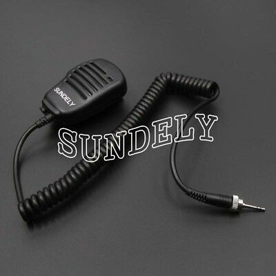 Hand Held Shoulder Mic With Speaker Uniden Vhf Radio Atlantis250g Atlantis250-bk