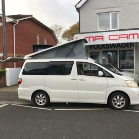 Toyota Alphard AX L-Edition 5 seater 48'' Rock n Roll Bed ''Compton'' Camper