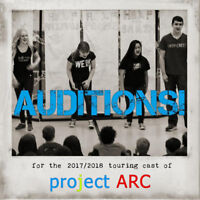 Auditions - project ARC's 2017-18 Season