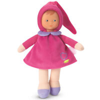 NEW Corolle Babicorolle Miss Pink Cotton Flower Doll