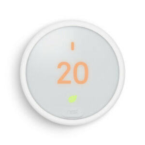 BRAND NEW Nest WHITE Thermostat E WiFi Smart Thermostat on sale!