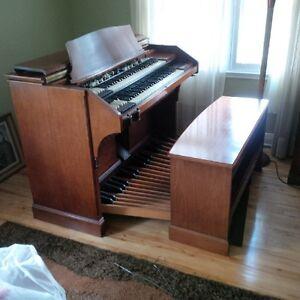 Ensemble orgue Hammond RT3