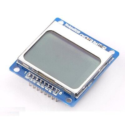 1pcs 8448 Lcd Module Blue Backlight Adapter Pcb For Nokia 5110