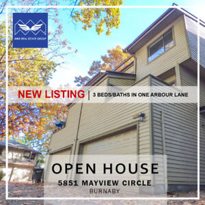 New Listing Open House @5851 Mayview Circle, Burnaby
