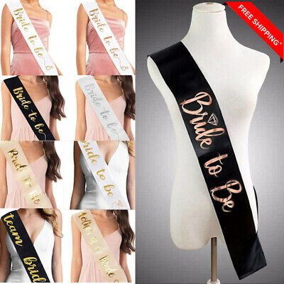 New Sash Hen Night Accessories Pink Party Do Bride To Be Funny Gift Cheap (Pink Party Accessories)