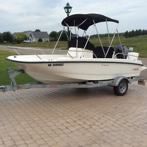 2012 dauntless 170 boston whaler