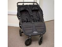 Baby Jogger City Mini GT Double Pushchair - Black - double buggy