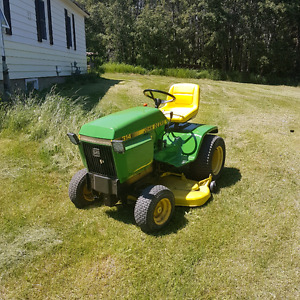 Looking for john deerr lawn and garden tractor parts