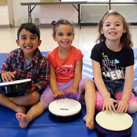 Move & Groove in our pre-instrument class for preschoolers!