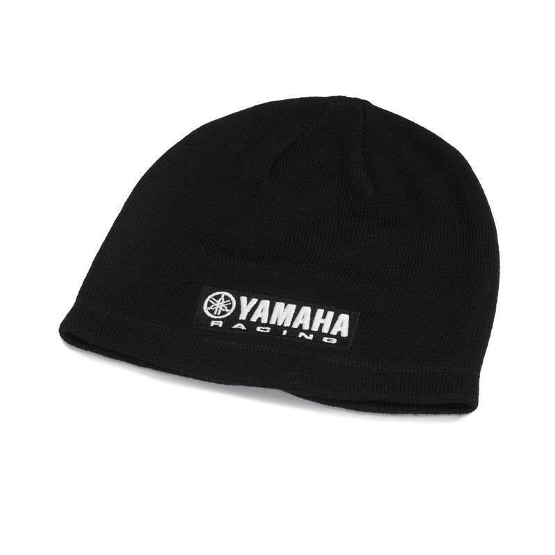 0e5aa506944 Genuine Yamaha Paddock Blue Racing Beanie - Black
