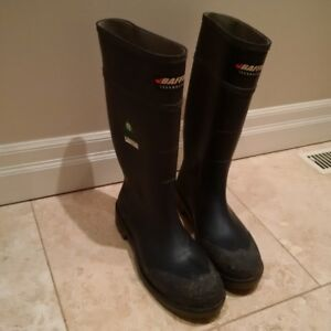 Rubber Boots Baffin technology Steel toe and plate Size 12