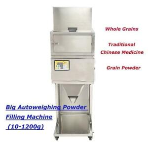 10-1200g Automatic Weighing and Filling Powder Filler Machine Microcomputer (Item# 188008)
