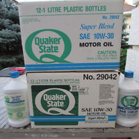 Quaker State 10W-30 Super Blend Motor Oil