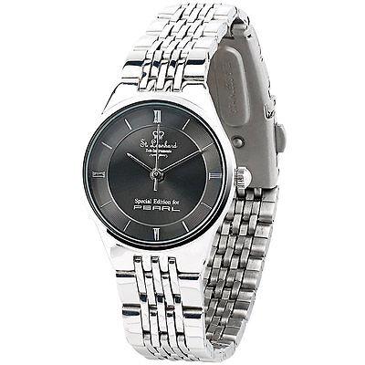 Damenuhren: Damen-Armbanduhr aus Edelstahl, wasserdicht bis 3 atm (Frauen Uhr)