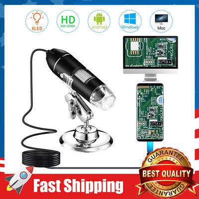 Digital-microscope Usb-handheld-magnification 8 Led Mini Camera And Metal Stand