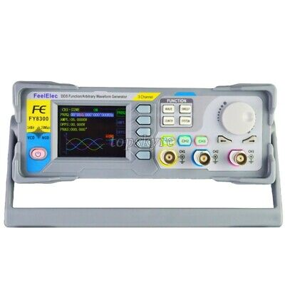 10mhz Dds 3-channel Function Signal Generator Arbitrary Waveform Generator Tps