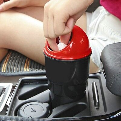 Auto Car Garbager Can Trash Garbage Dust Case Holder Bin for Home Office IN9