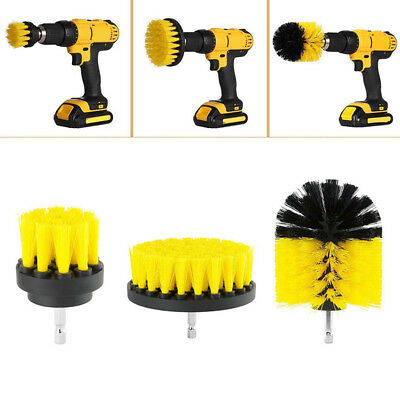 3Pcs/Set Tile Grout Power Scrubber Electric Drills Cleaning Brushes Tub Combo