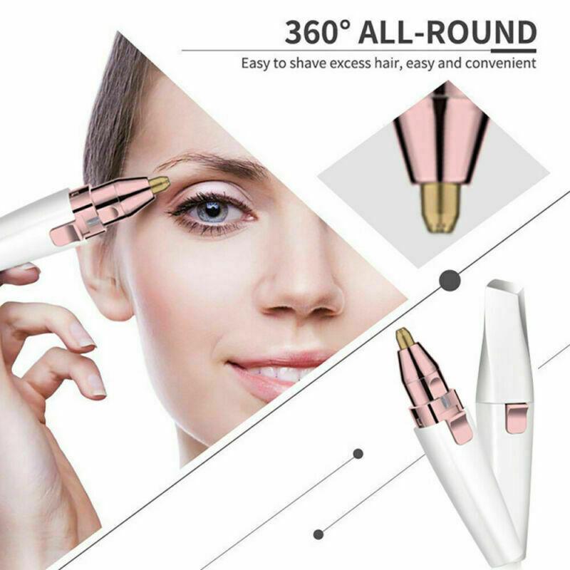 Elektrischer Augenbrauen Rasierer Remover Haar Entferner für Frauen Trimmer 2021