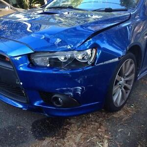 2009 Mitsubishi Lancer Ralliart Hatchback Repair Write Off -Parts Sylvania Sutherland Area Preview